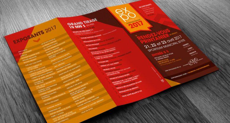 Dépliant promotionnel - Expo Mékinac 2017