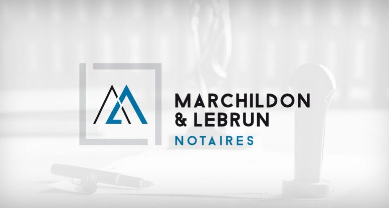 Logo Marchildon & Lebrun Notaires